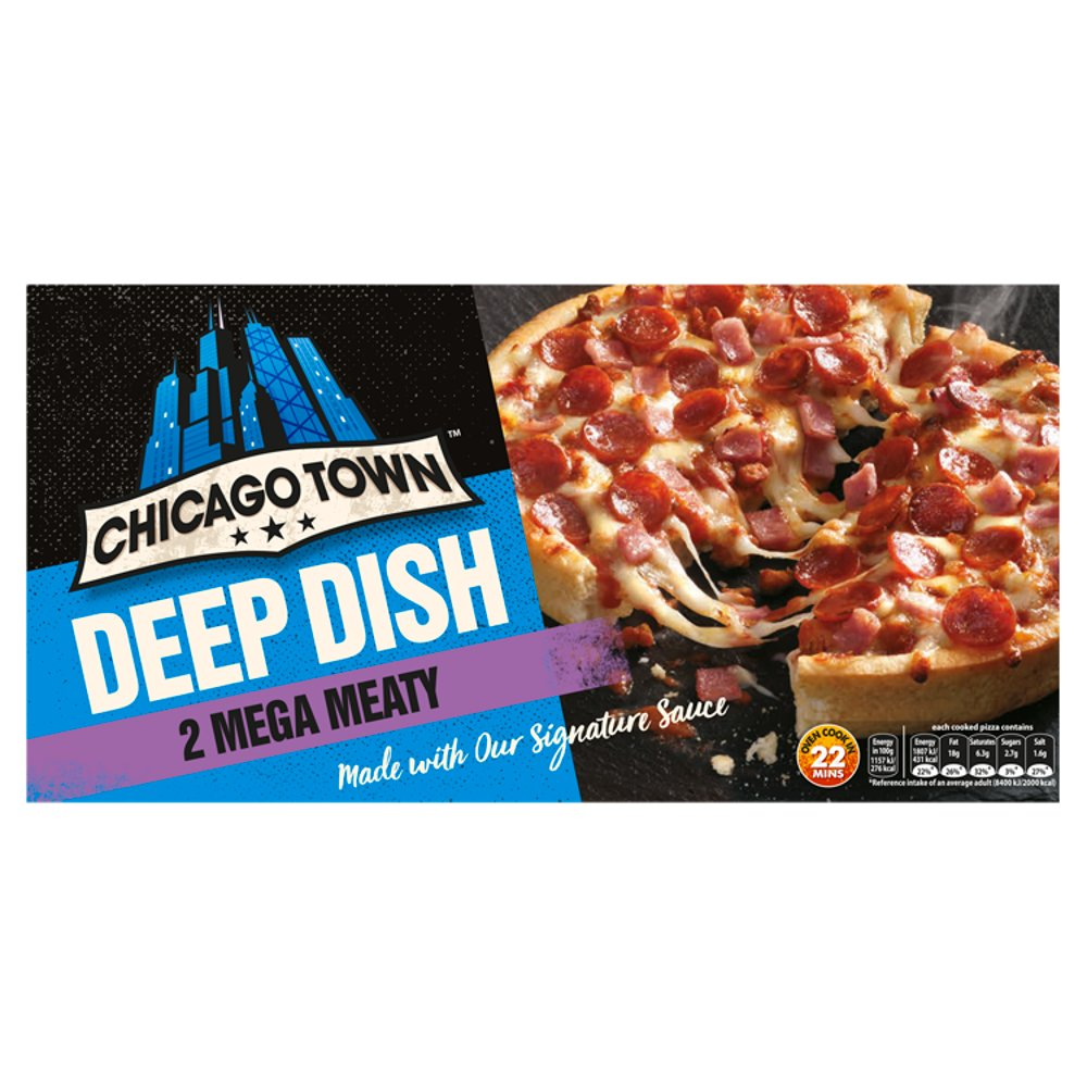 Ct Deep Dish Meaty PM £2