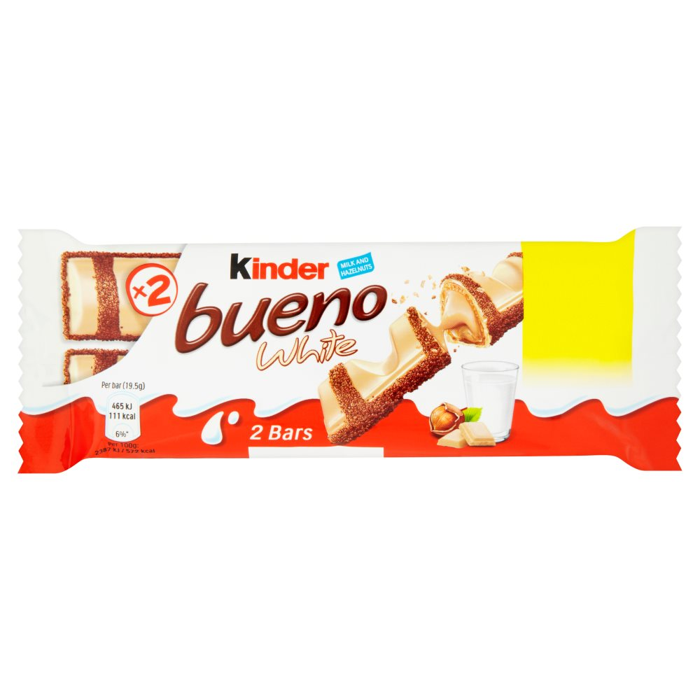 Kinder Bueno White PM 55p