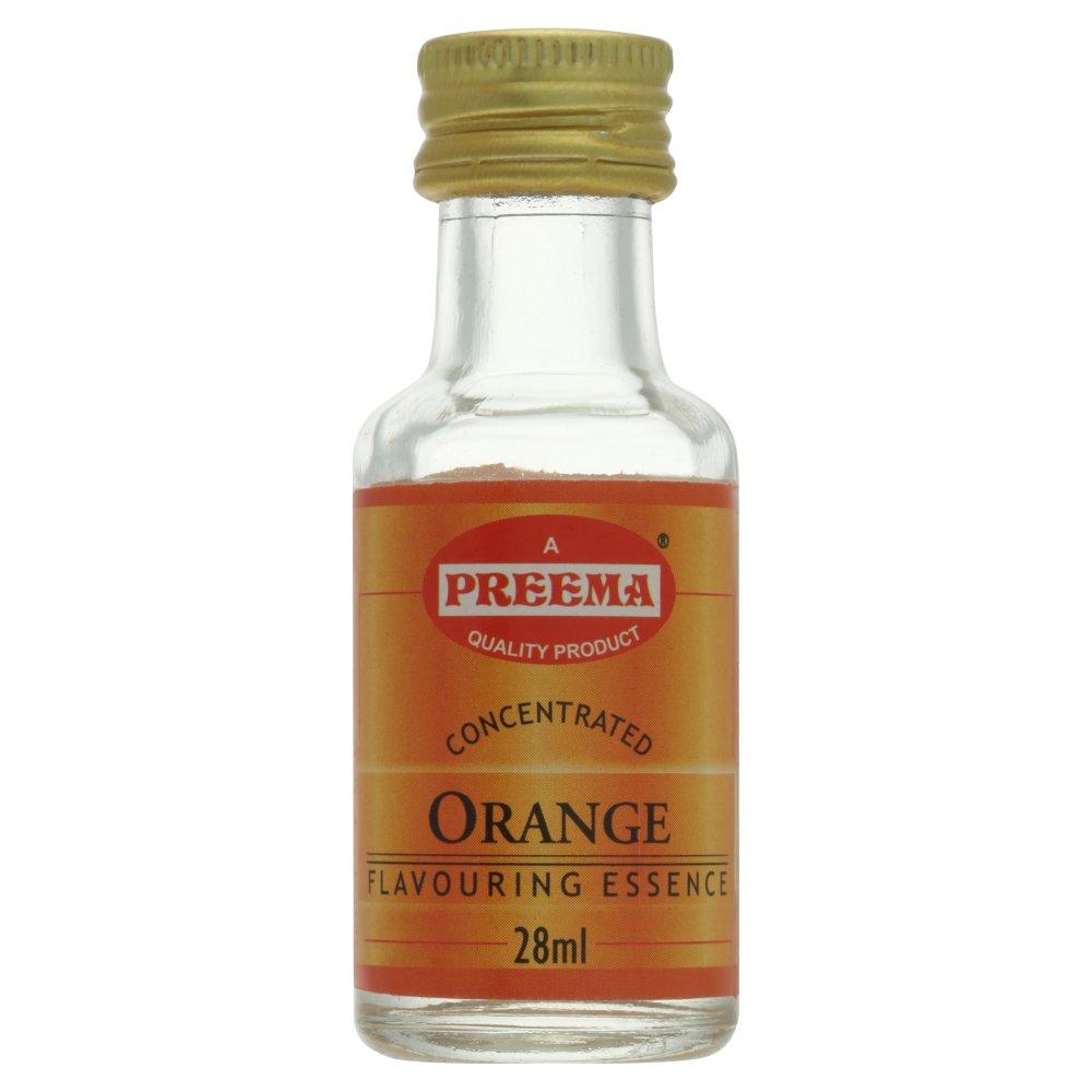 Preema Concentrated Orange Flavouring Essence 28ml