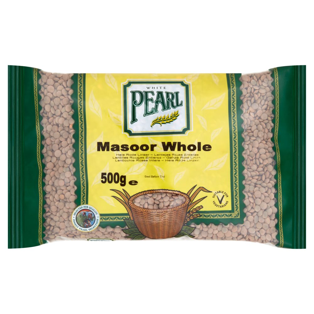 White Pearl Masoor Whole