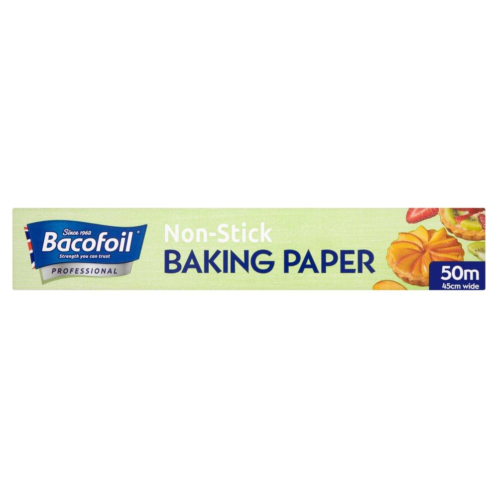 Bacofoil Professional Non-Stick Baking Paper 50m :: Bestway Wholesale