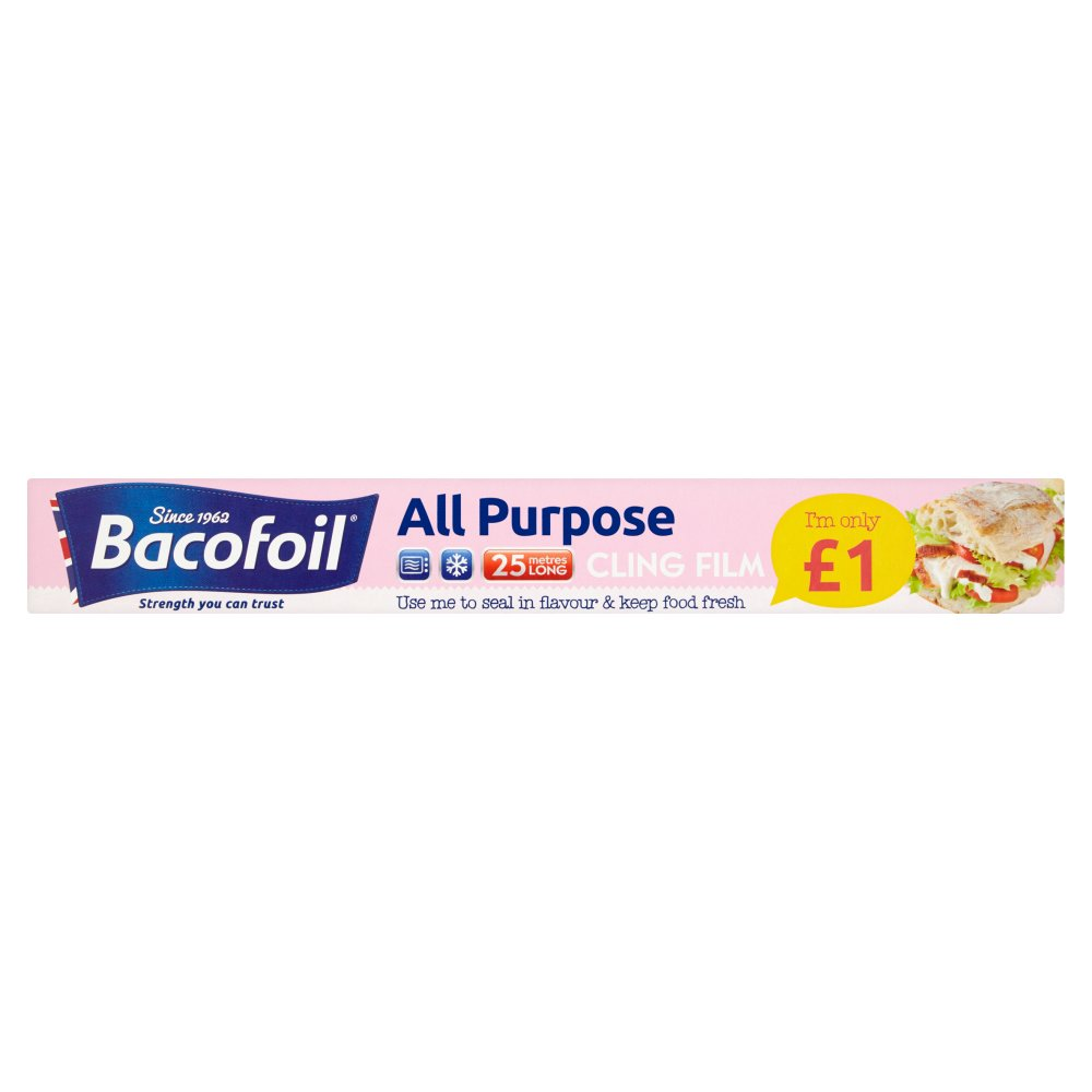 Baco All Purpose Cling Film 30Cmx25M PM £1