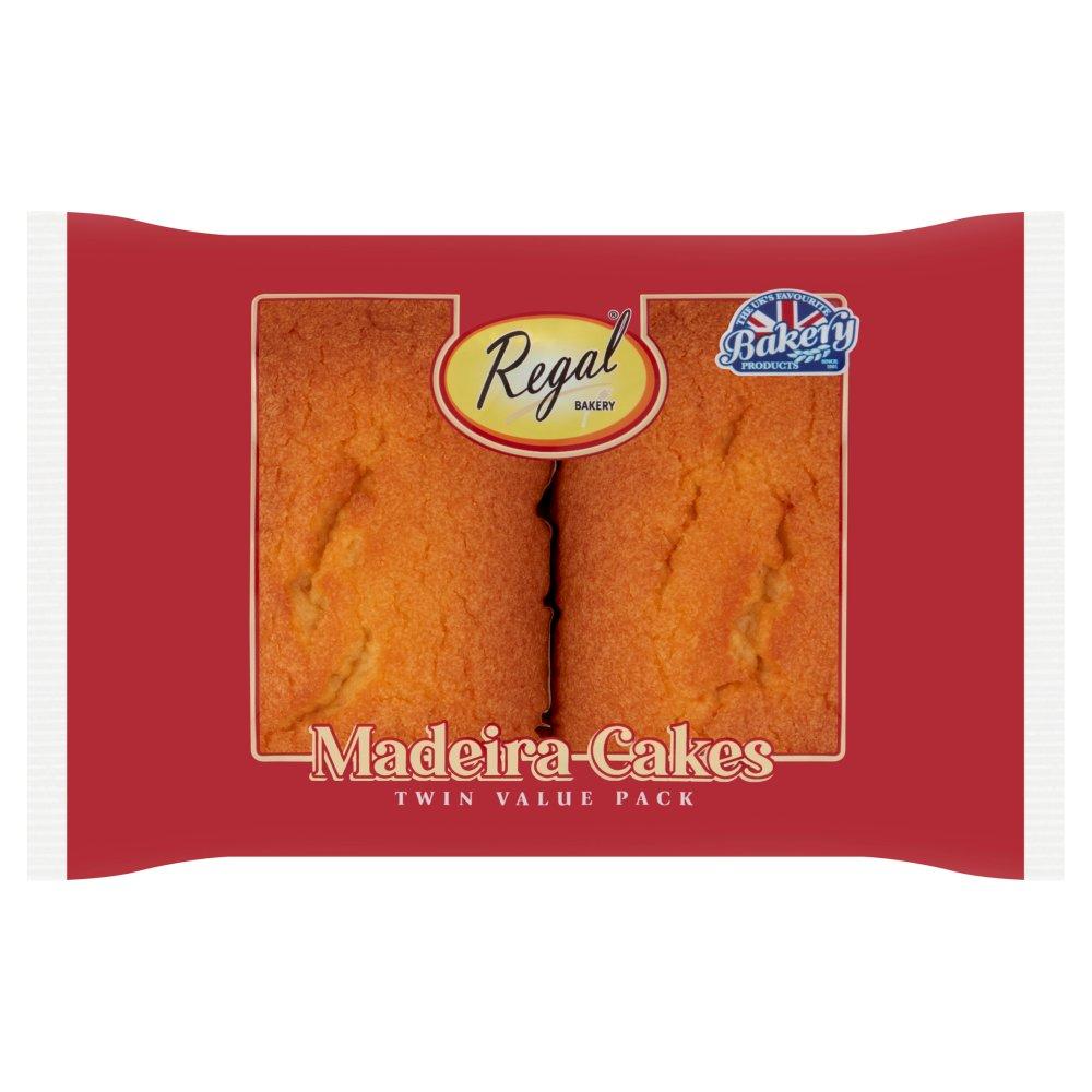 Regal Bakery 2 Classic Madeira Cakes