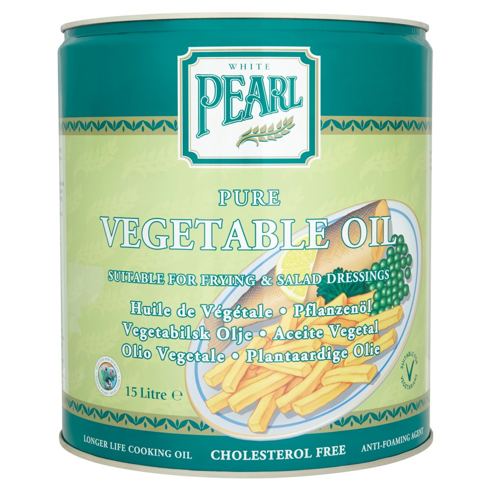 White Pearl Vegetable Oil 15Ltr