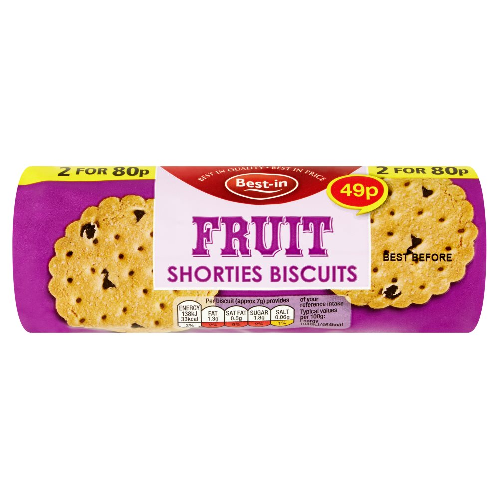 Bestin Fruit Shorties PM 49p