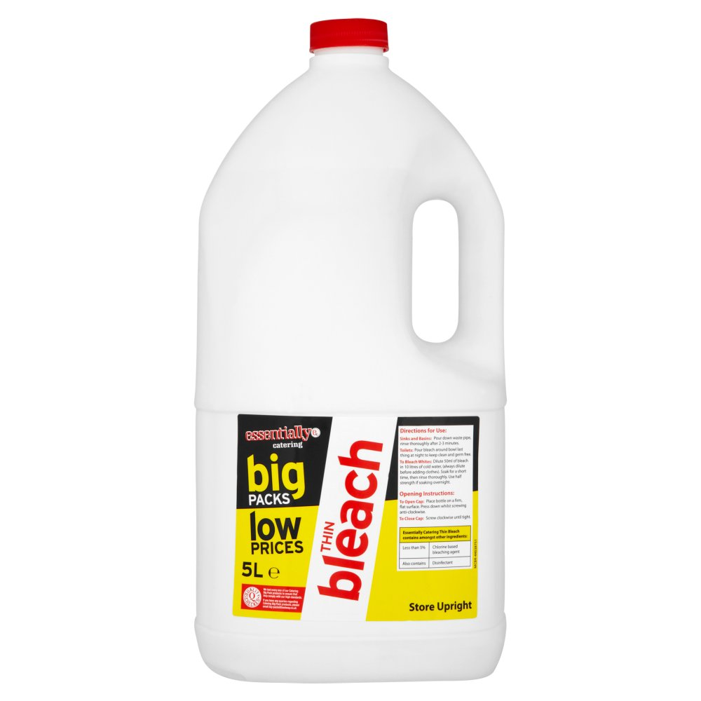 Essentially Catering Thin Bleach 5Ltr