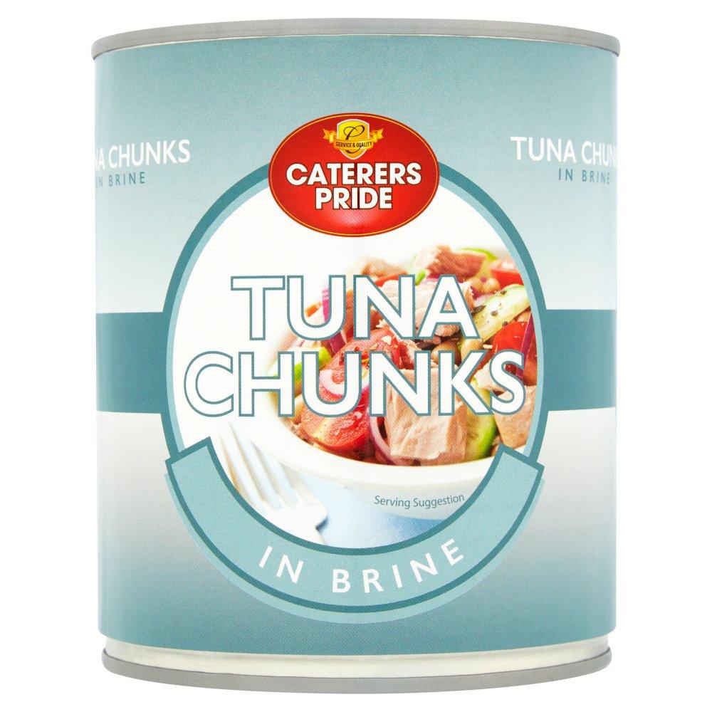 Caterers Pride Tuna Chunks in Brine 800g :: Bestway Wholesale