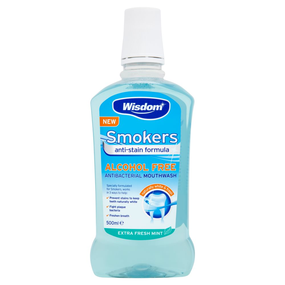 Wisdom Smokers Mouthwash