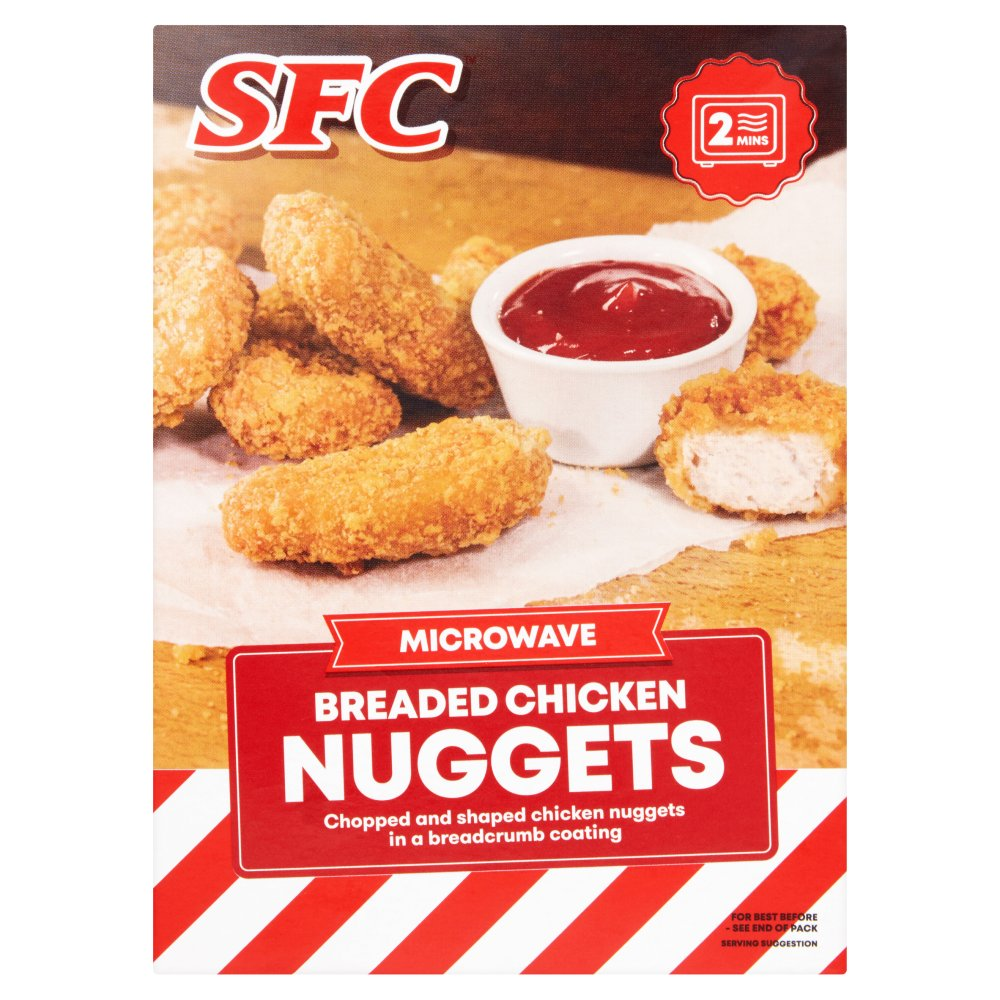 SFC Microwave Breaded Chicken Nuggets 100g