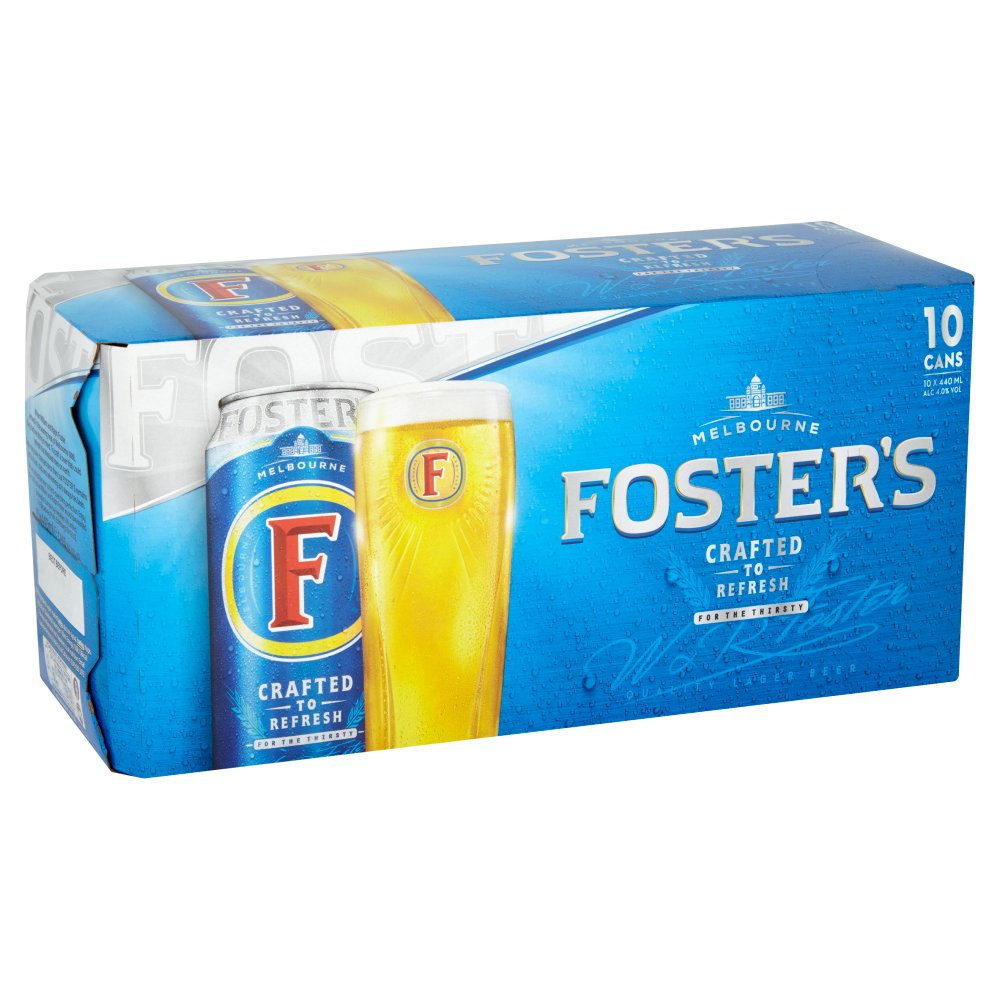 Foster Lager 10pack