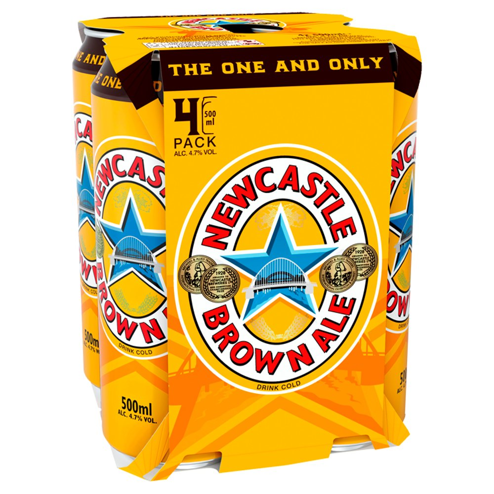 Newcastle Brown Ale Can 500ml