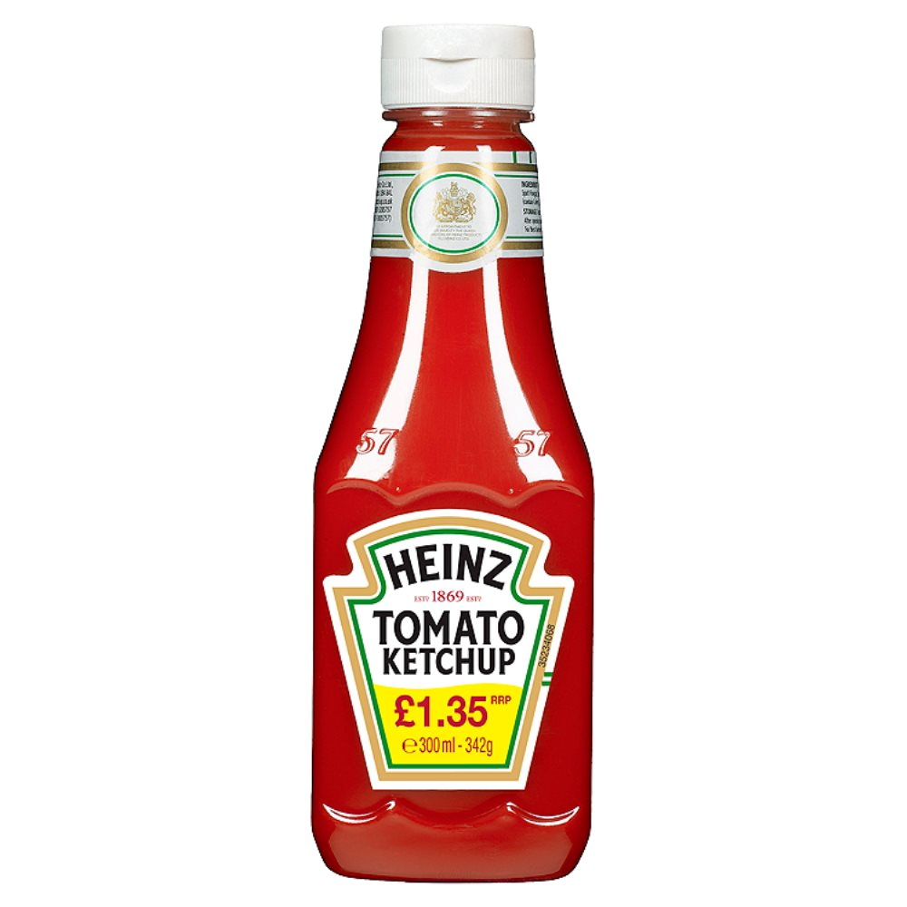 Heinz Tomato Ketchup Squeezy PM £1.35