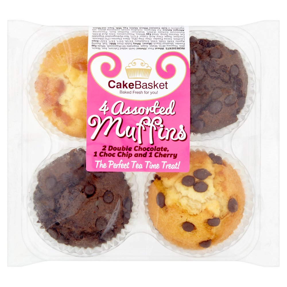 Perfection Foods Assorted Tasty Muffins