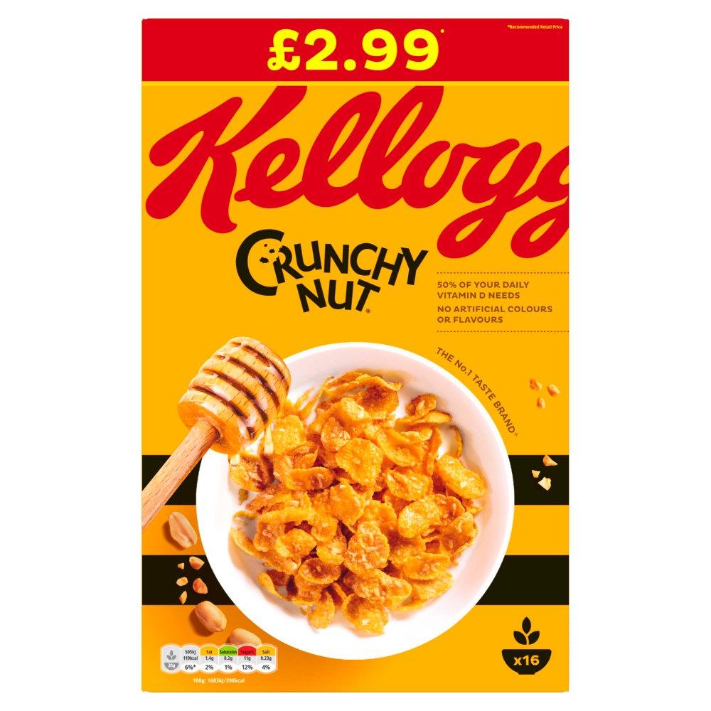 Kellogg's Crunchy Nut Cereal 500g
