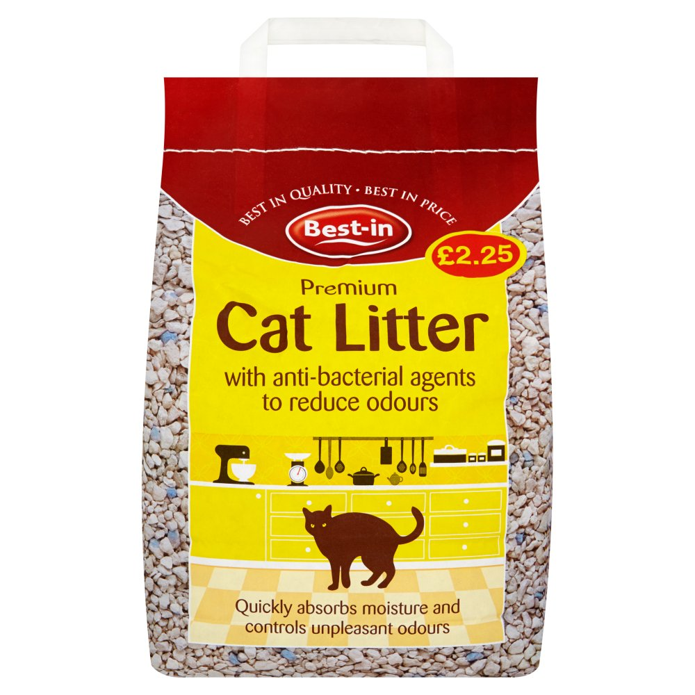Bestin Anti Bacterial Cat Litter PM £2.25