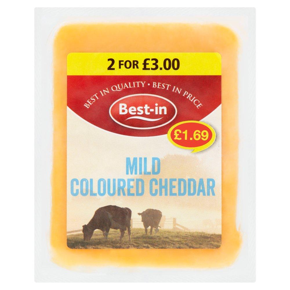 Best-in Mild Coloured Cheddar 200g
