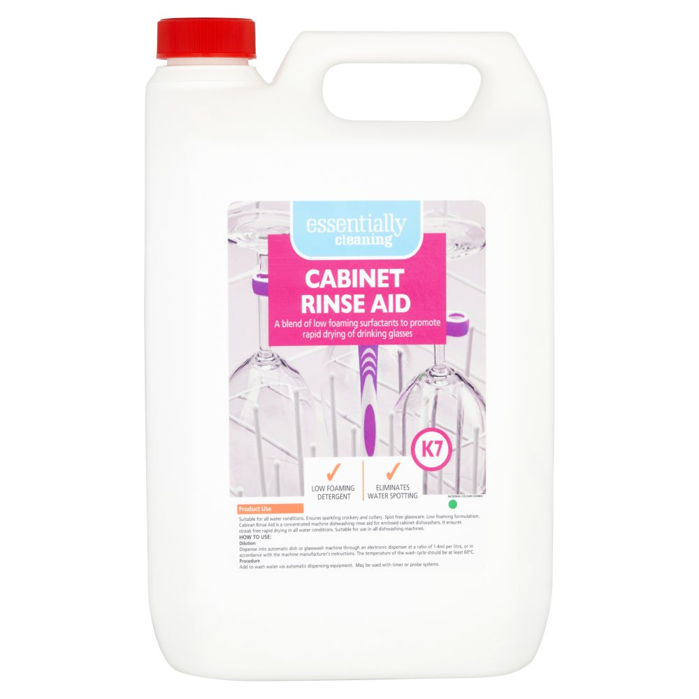 Essentially Cleaning Cabinet Rinse Aid K7 5L