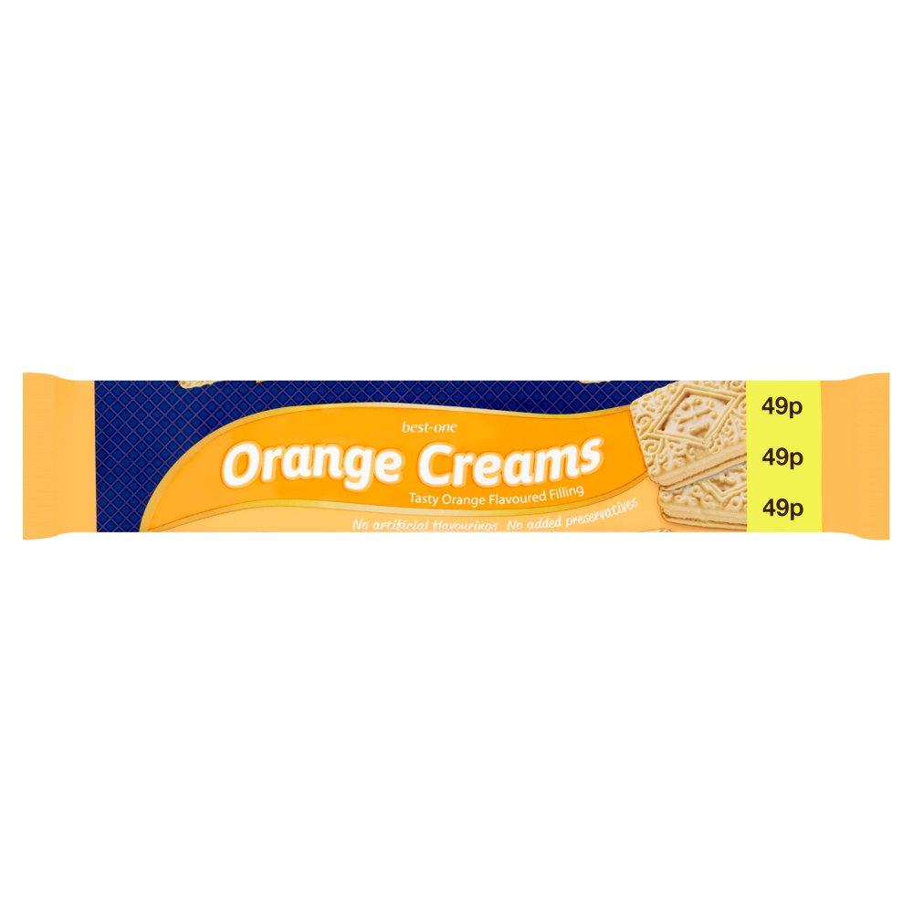Best-One Orange Creams 150g