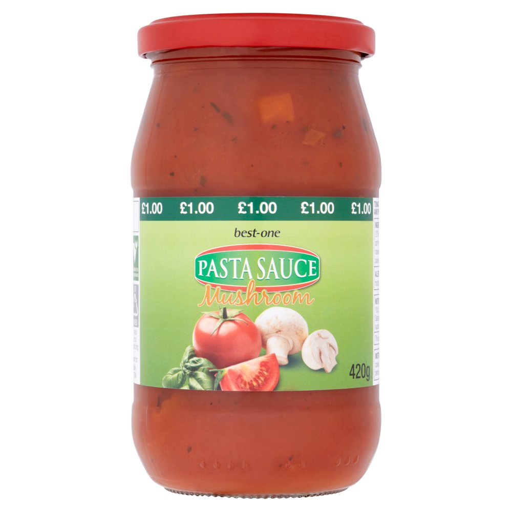 Best-One Pasta Sauce Mushroom 420g