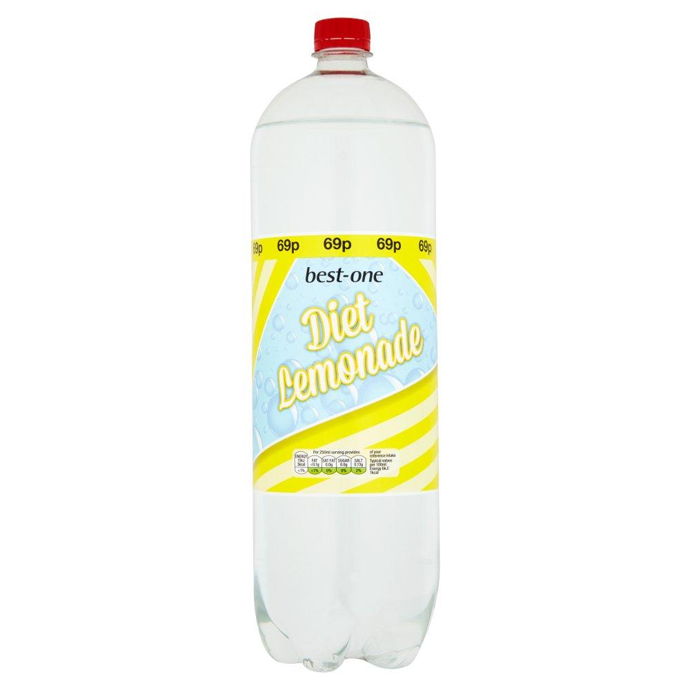 Best One Diet Lemonade 2 Litre Bb Foodservice