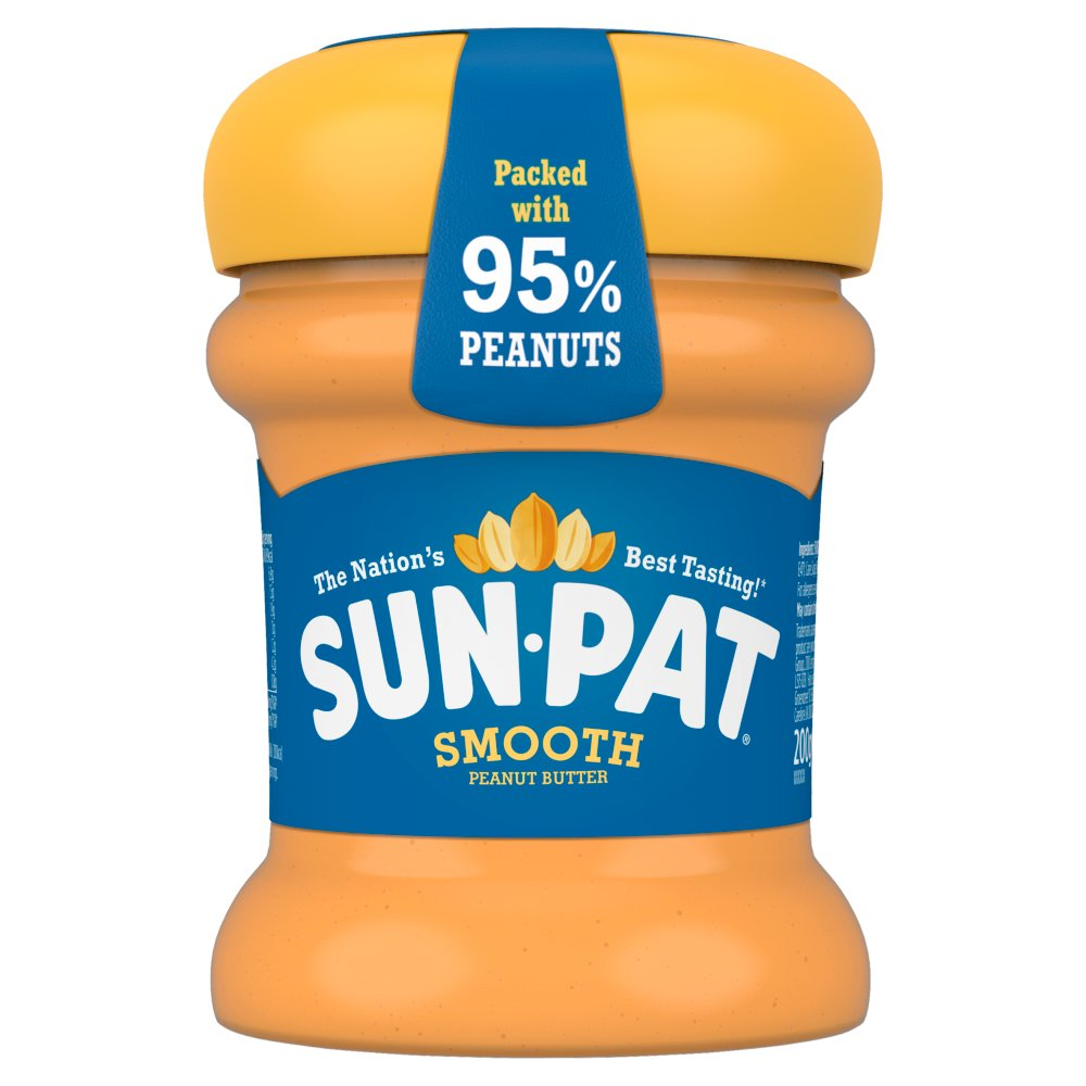 Sun-Pat Smooth Peanut Butter 200g