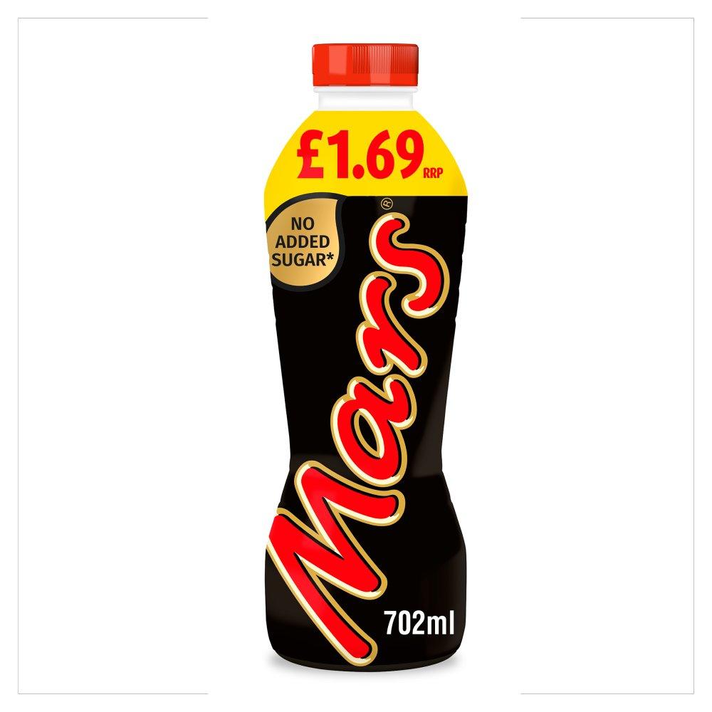 Mars Chocolate Milk Shake Drink No Added Sugar 702ml