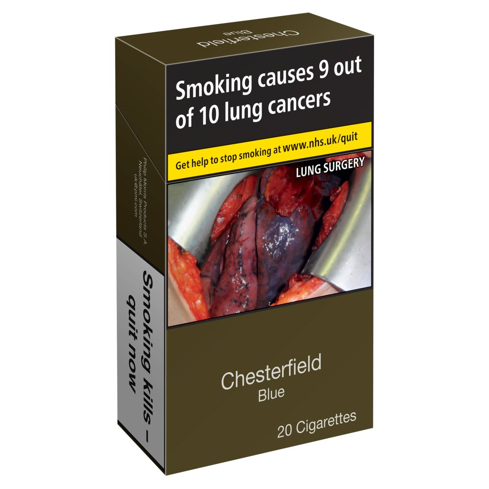 Chesterfield Blue KS 20 Cigarettes