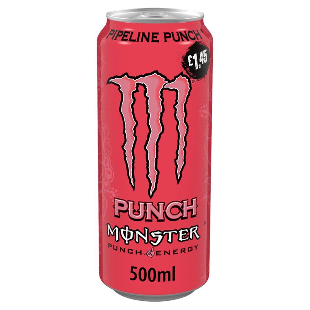 Monster Pipeline Punch Energy Drink 12 x 500ml PM £1.45