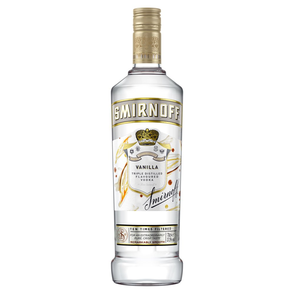 Smirnoff Vanilla Flavoured Vodka 70cl