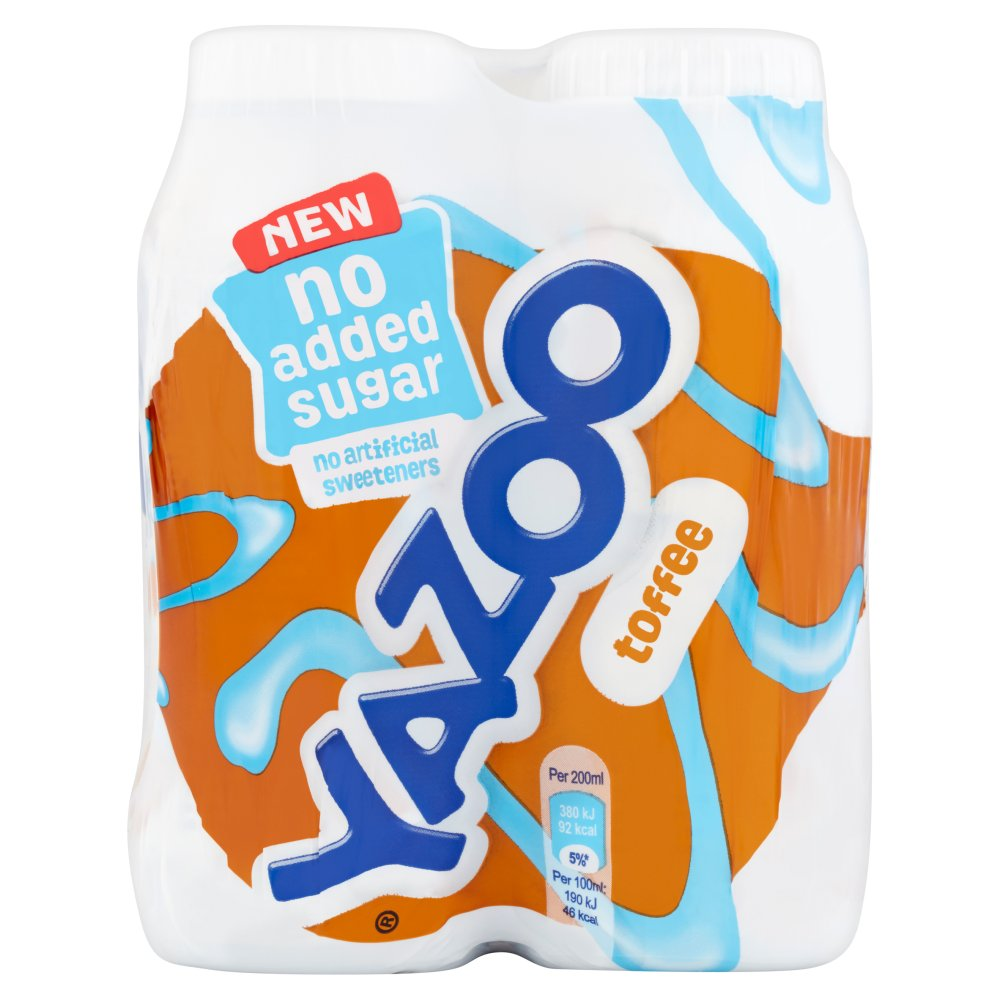 Yazoo Milk Toffee No Added Sugar