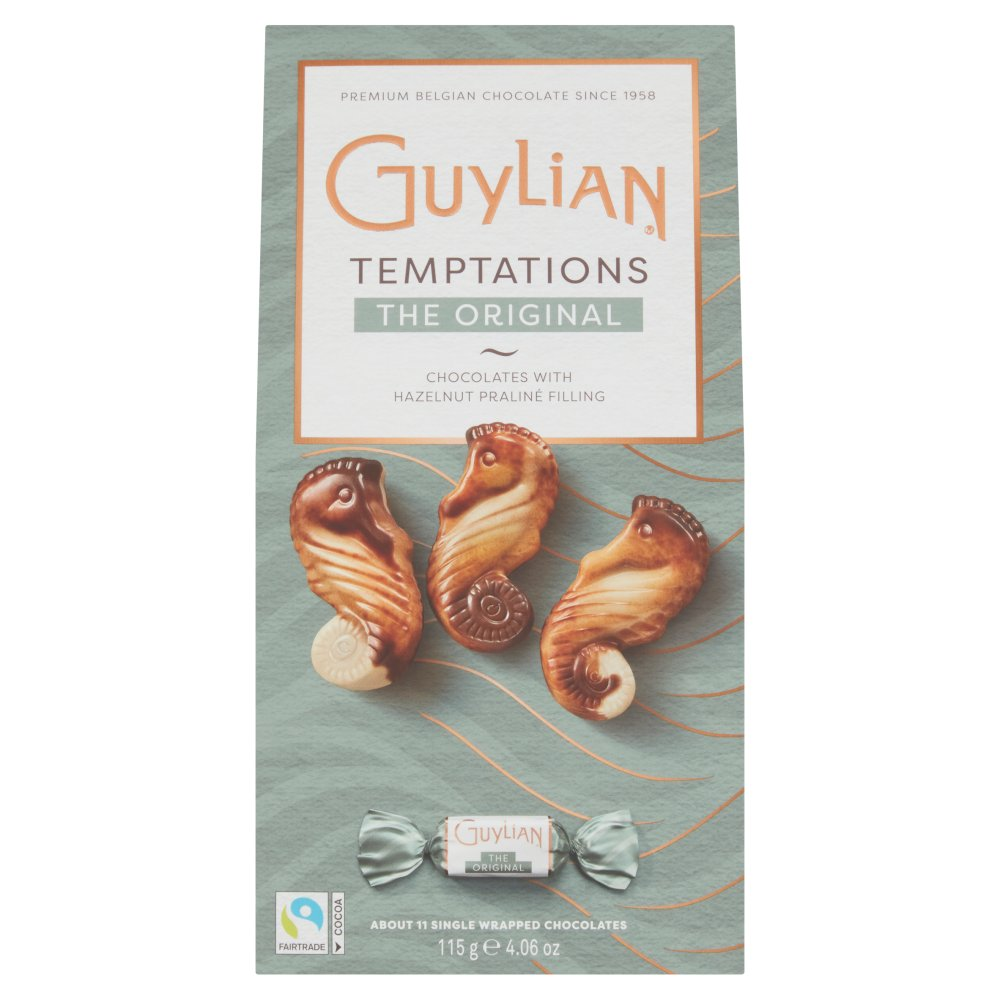 Guylian Belgian Chocolates Sea Horses Original Praliné 11 Chocolates 115g