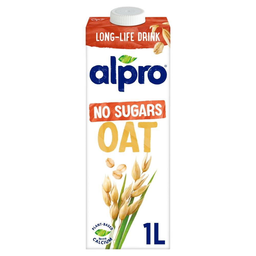 Alpro Oat No Sugars Long Life Drink 1L