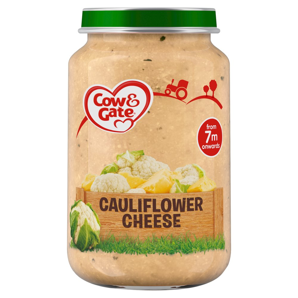 Cow & Gate Creamy Cauliflower Cheese