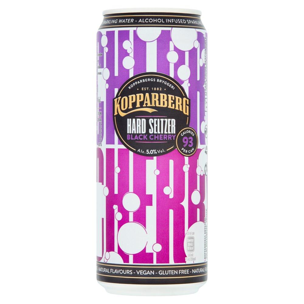 Kopparberg Hard Seltzer Black Cherry 330ml