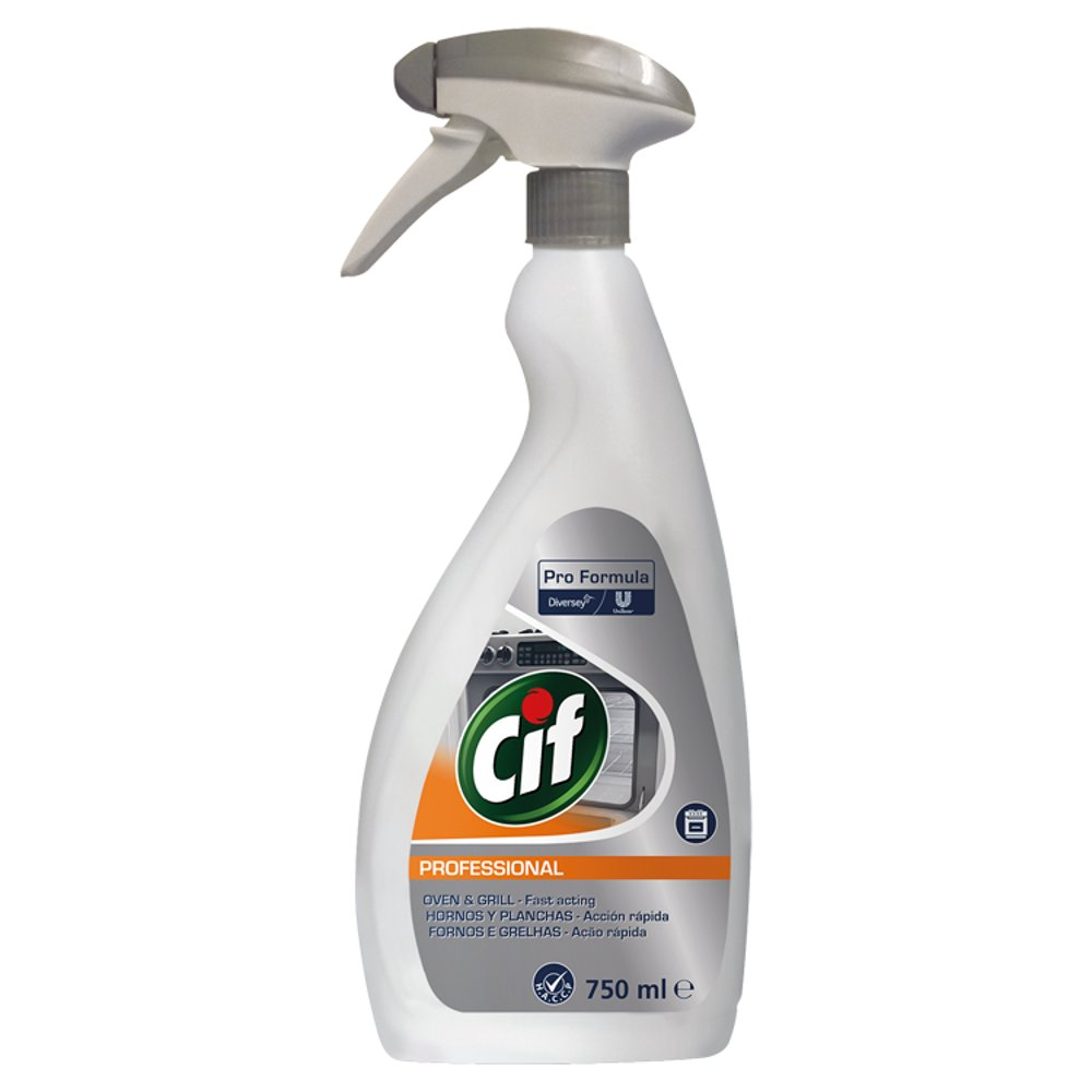 Cif Pro Formula Professional Oven & Grill Cleaner 750ml