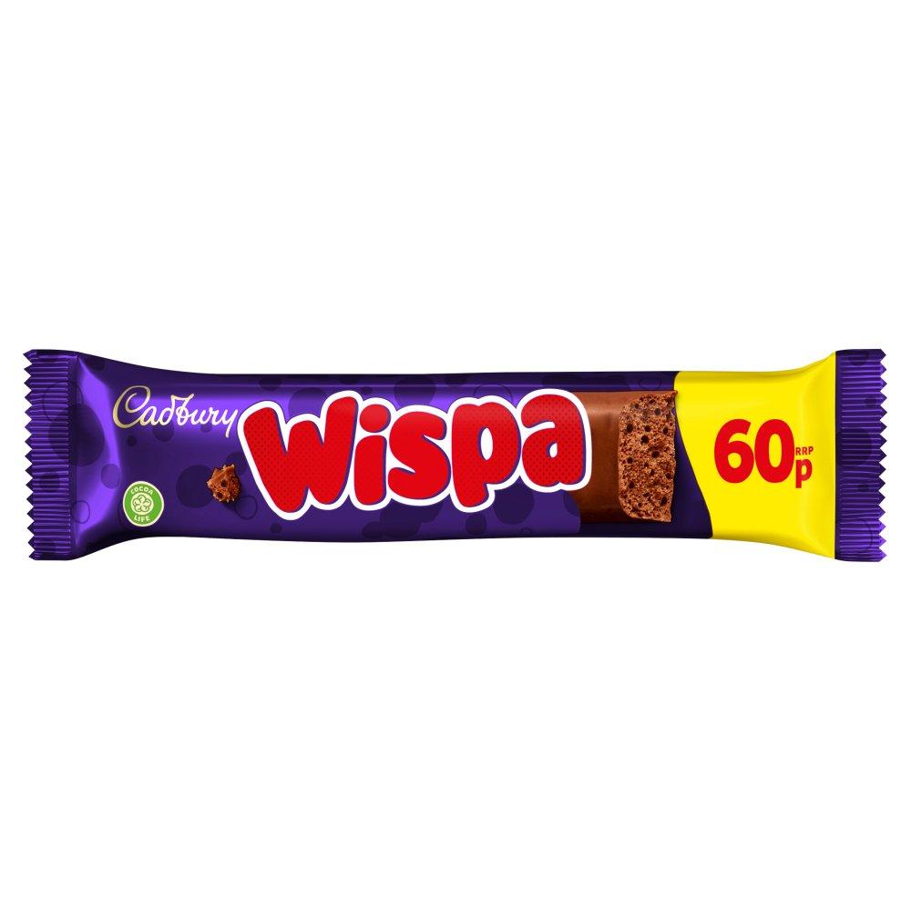 Cadbury Wispa Chocolate Bar 60p 36g