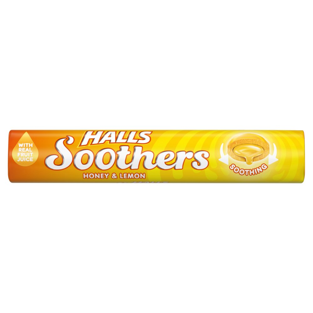 Halls Soothers Honey And Lemon