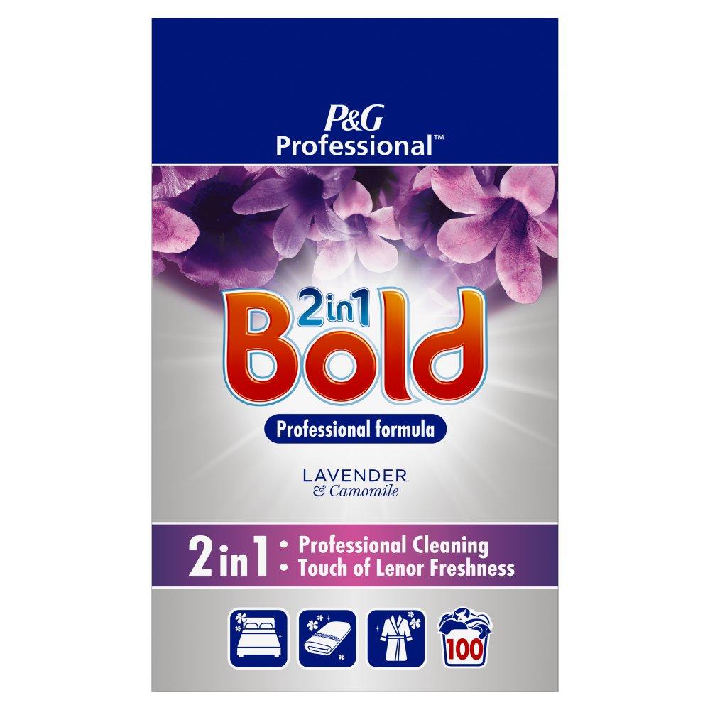 Bold 2in1 Professional Powder Detergent Lavender & Camomile 6.5kg 100 Washes