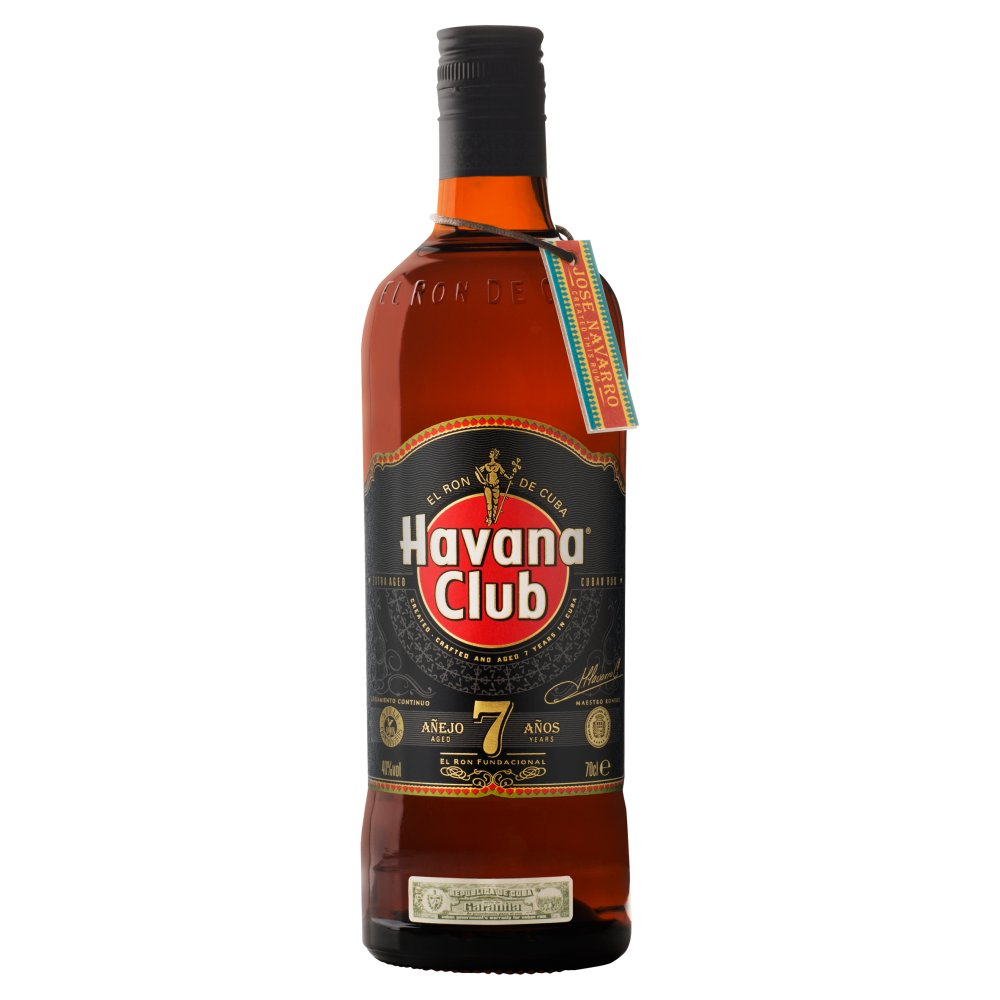 Havana Club Aged 7 Years Cuban Rum 70cl