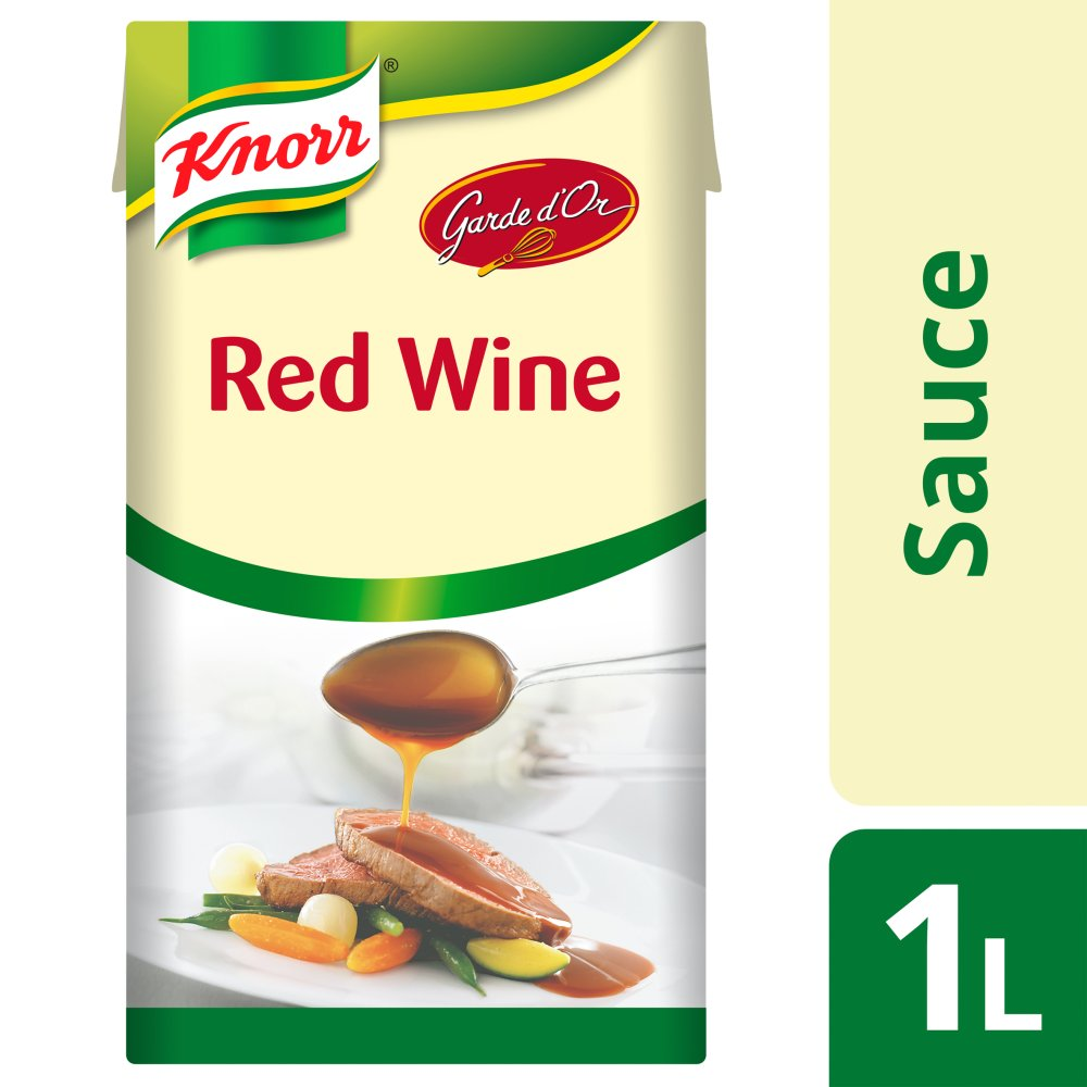 Knorr Garde Dor Red Wine Sauce