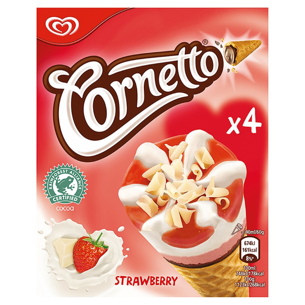 Walls Cornetto Strawberry