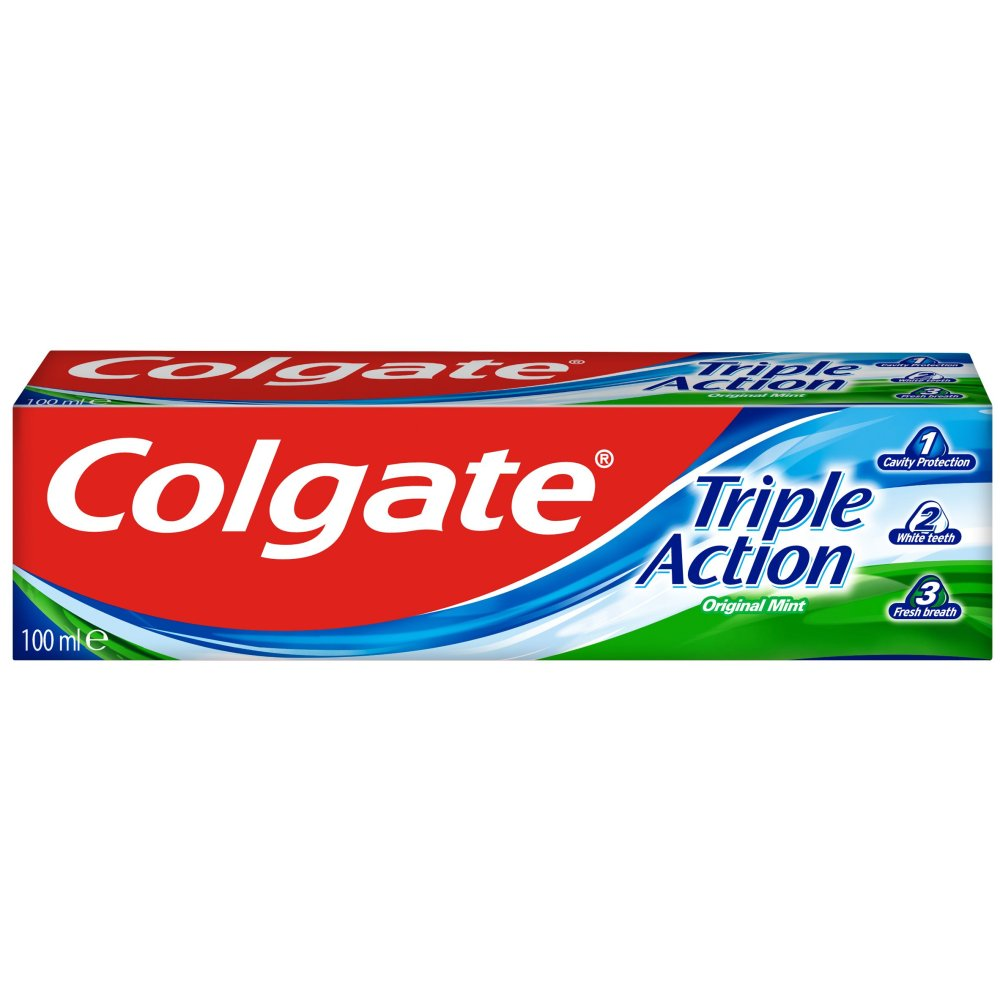 Colgate Triple Action Original Toothpaste 100ml