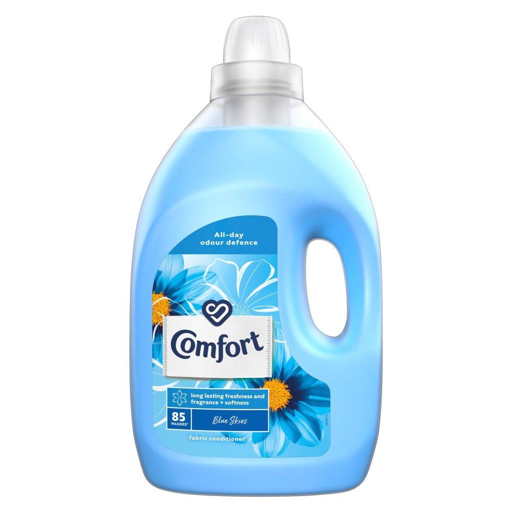 Comfort Blue Skies Fabric Conditioner 85 Wash 3 l