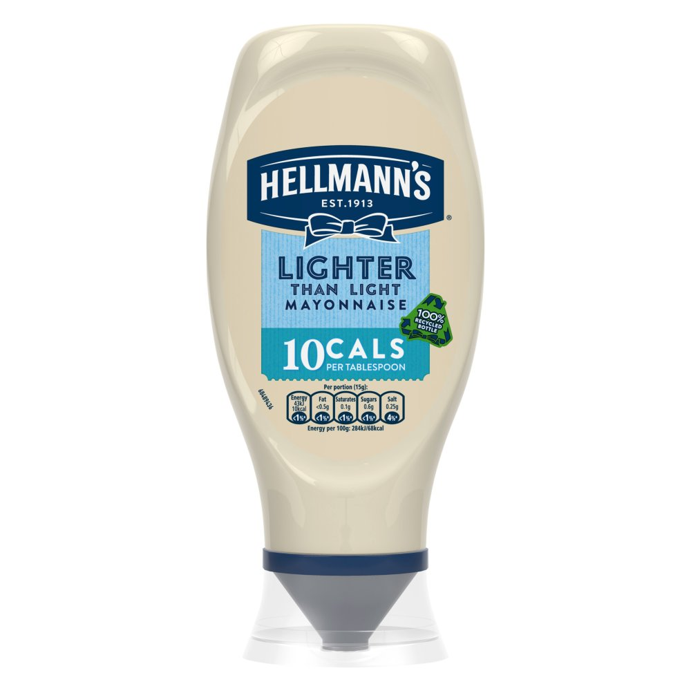 Hellmanns Squeezy Lighter Mayonnaise