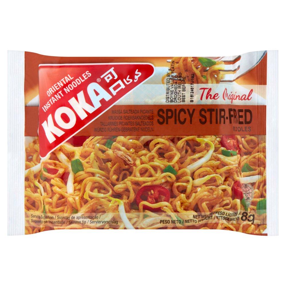 Koka The Original Spicy Stir-Fried Oriental Instant Noodles 85g