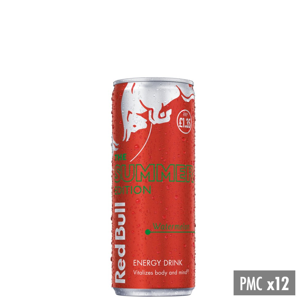 Red Bull Energy Drink, Red Edition, PMC £1.35 250ml