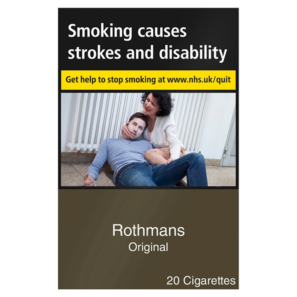 Rothmans Original 20 Cigarettes