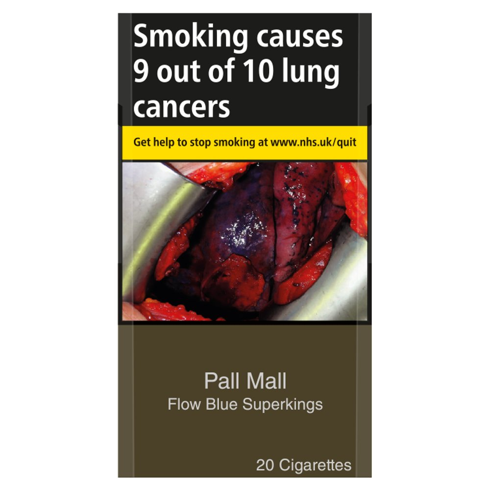 Pall Mall Flow Blue Superkings 20 Cigarettes