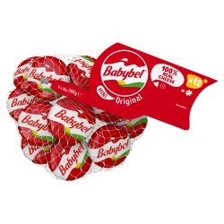Mini Babybel Original Natural Cheese Snacks 12 x 20g (240g)