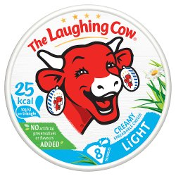 The Laughing Cow Light Cheese Spread 8 Triangles 133g